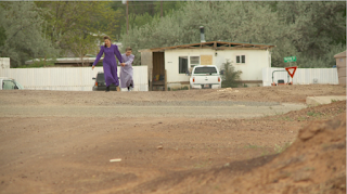 Young women play in the streets in Hildale, Utah. (Image by Aaron Kimbell, FOX 13 News)