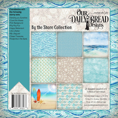 Our Daily Bread Designs Paper Collection: By the Shore