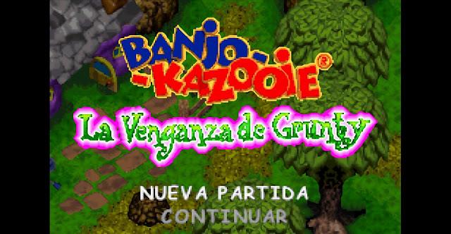 Banjo-Kazooie: La Venganza de Grunty - Español - Captura 1