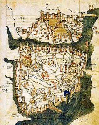 İstanbul'un en eski haritası
