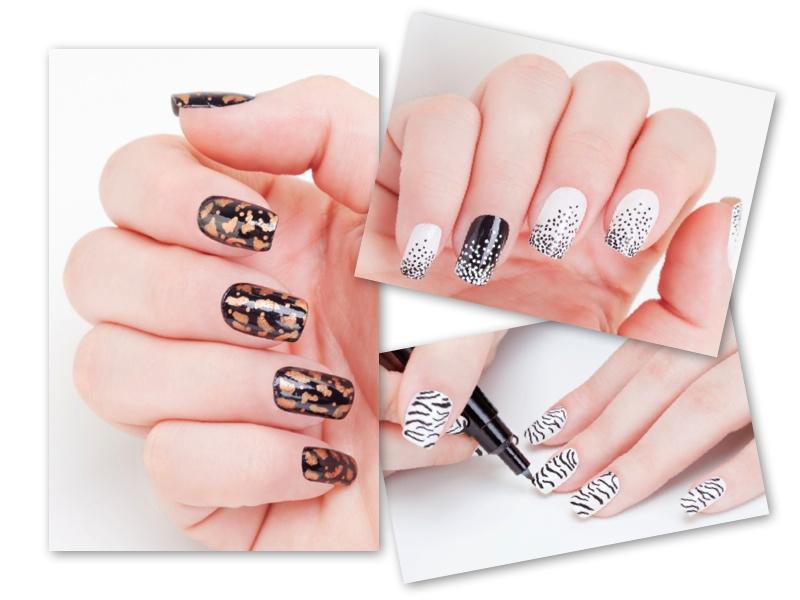 Modelos de unhas decoradas com canetas