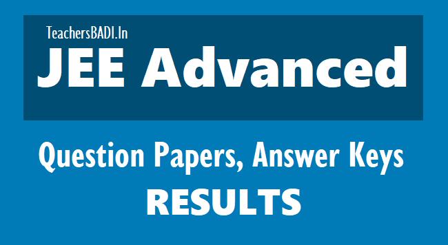 jee advance result 2019