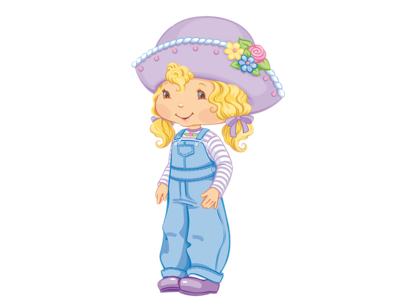 Cartoon Characters: Strawberry Shortcake (PNG)