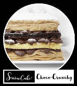 Snowcake Choco Crunchy