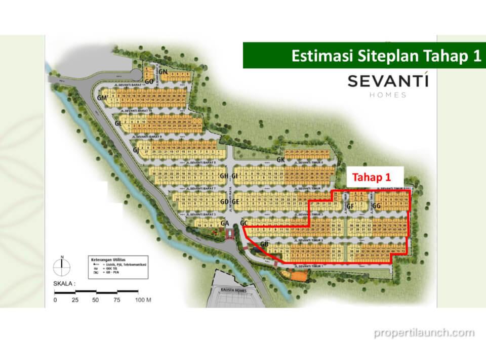 Penjualan Tahap 1 Cluster Sevanti Homes Summarecon Karawang