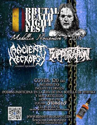 festivales mas importantes del metal extremo en medellín colombia