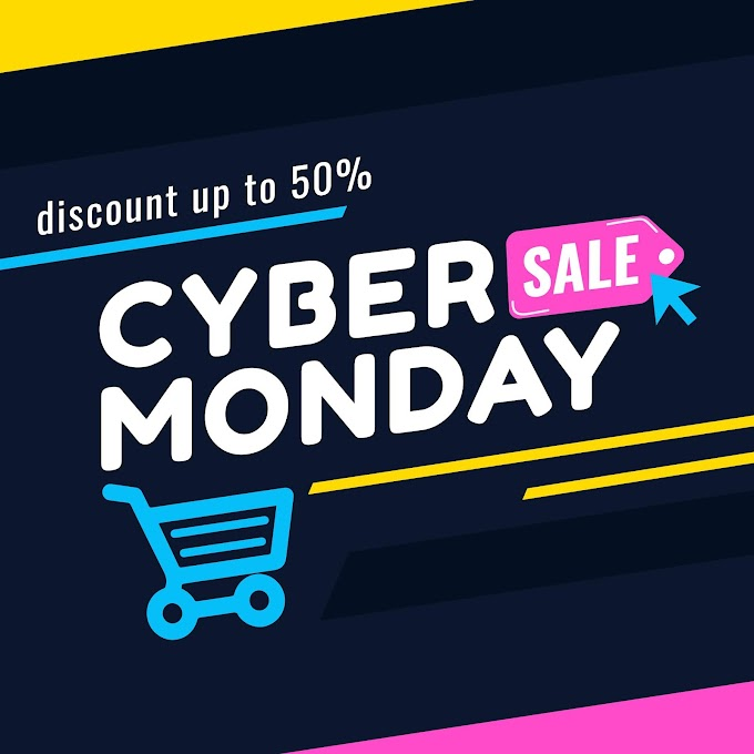 Cyber Monday Sale Banner For Social Media Post free vector