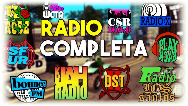 RADIOS - GTA SA ANDROID! (GTA SA LITE) - 290MB - ANDROGAMER
