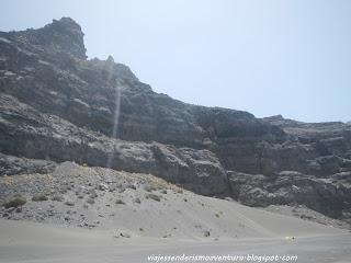 Duna de arena en la Playa de Guguy o Güigüí