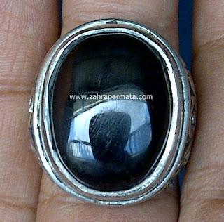 Cincin Batu Permata Meteorite - ZP 506