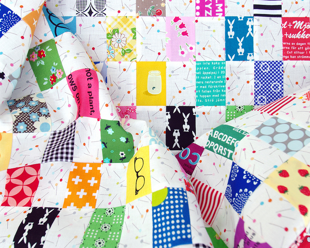 Rectangle Checkerboard Quilt | Stash Buster Quilt | Red Pepper Quilts