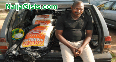 rice smuggled as corpse seme border