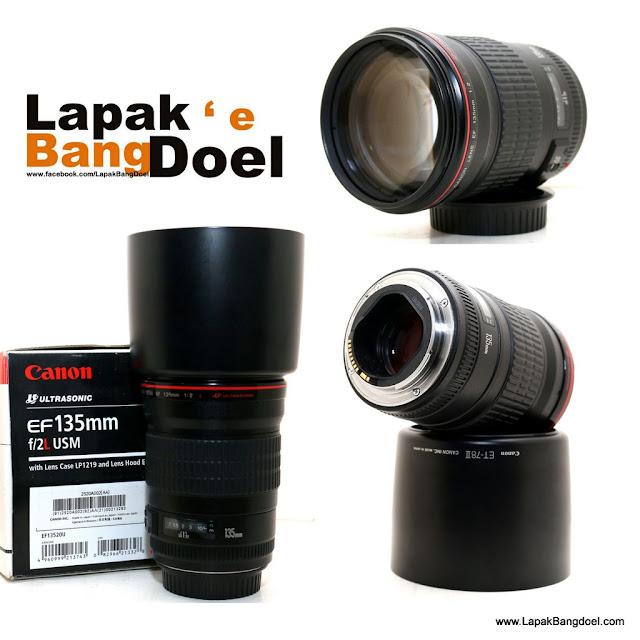 Canon EF 135mm f2 L USM kode UA