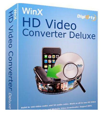 WinX HD Video Converter Deluxe Free Download With license code 2019