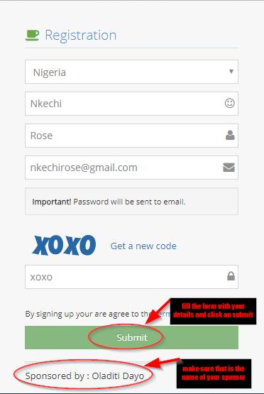 icharity club Nigeria registration
