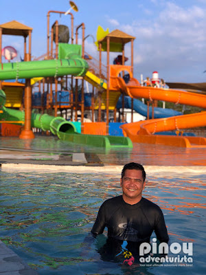 Aqua Fun Water Park at Camaya Coast Beach Resorts in Bataan