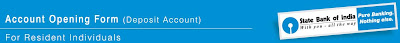 OnlineSBI Account Opening Form