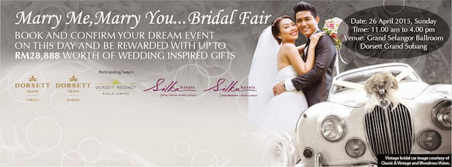 Marry Me, Marry You Bridal Fair at Dorsett Grand Subang