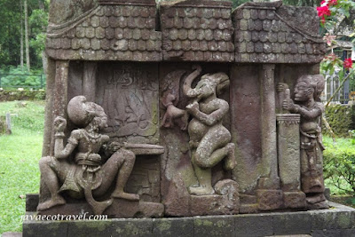 Ganesha and The Keris maker in Sukuh Temple