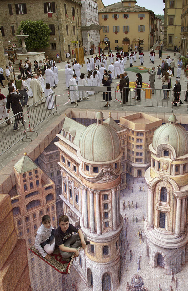 09-Magic-Carpet-Kurt-Wenner-3D-Street-Pavement-Art-Painting-www-designstack-co