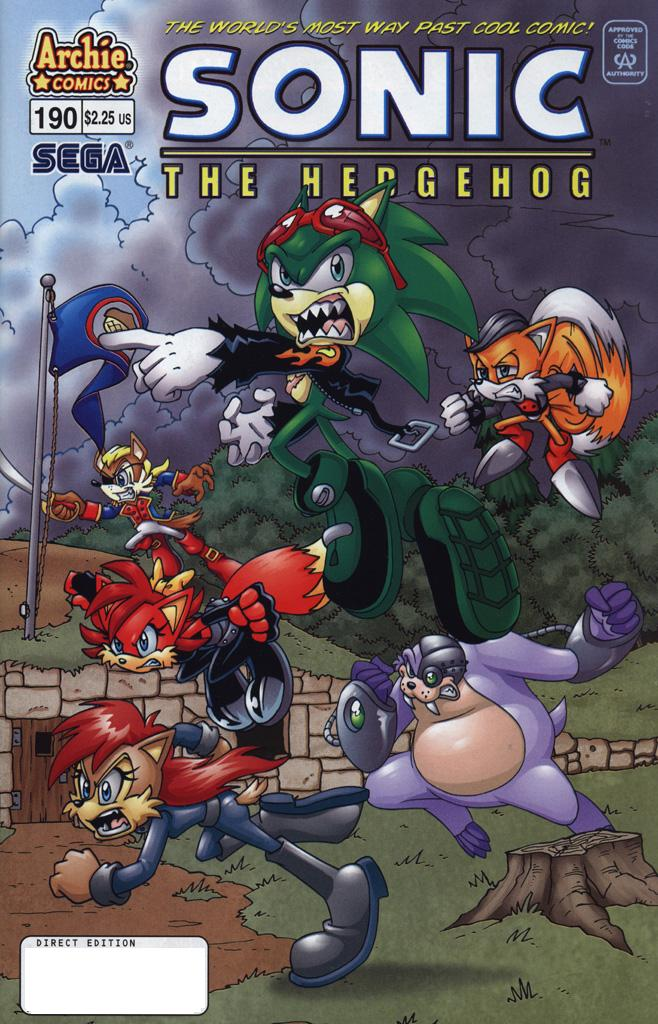 Sonic The Hedgehog (1993) #190 - Read Sonic The Hedgehog