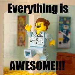 "Lego ""Everything is Awesome"""