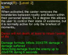 Naruto Castle Defense 7.05 Izanagi detail