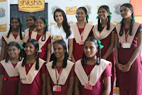 Actress Priya Anand with the Students of Shiksha Movement Event .COM 0022.jpg