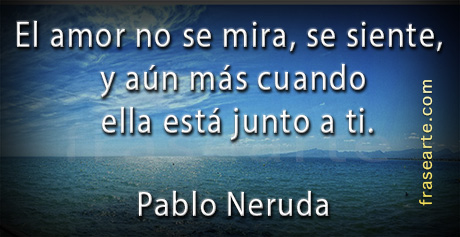 Citas de amor de Pablo Neruda