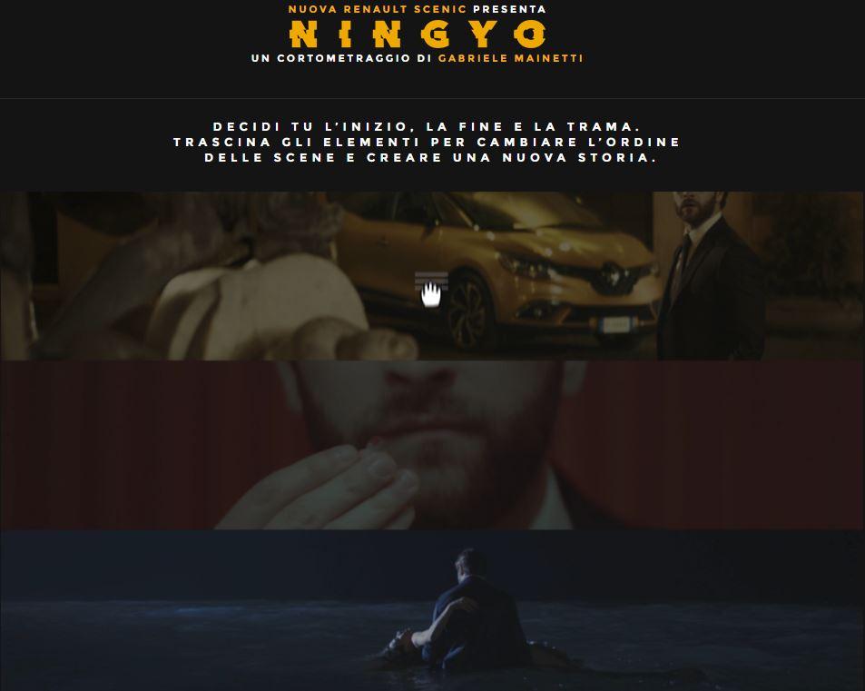 Film Nuova Renault Scenic 'Nygyo': un cortometraggio di Gabriele Mainetti