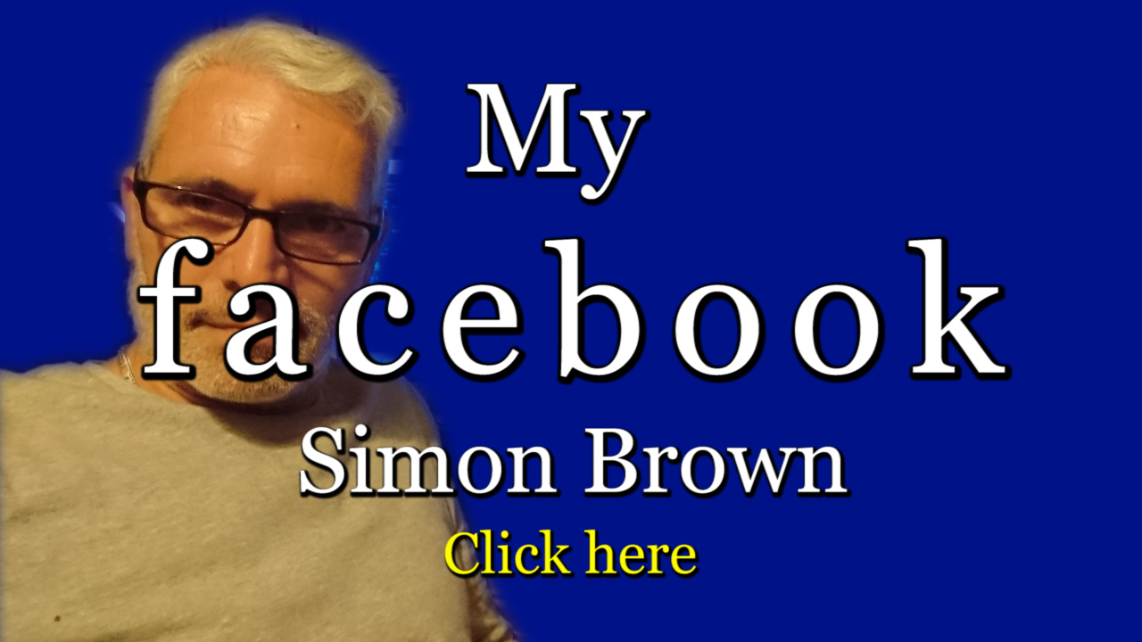 My Facebook, Simon Brown.