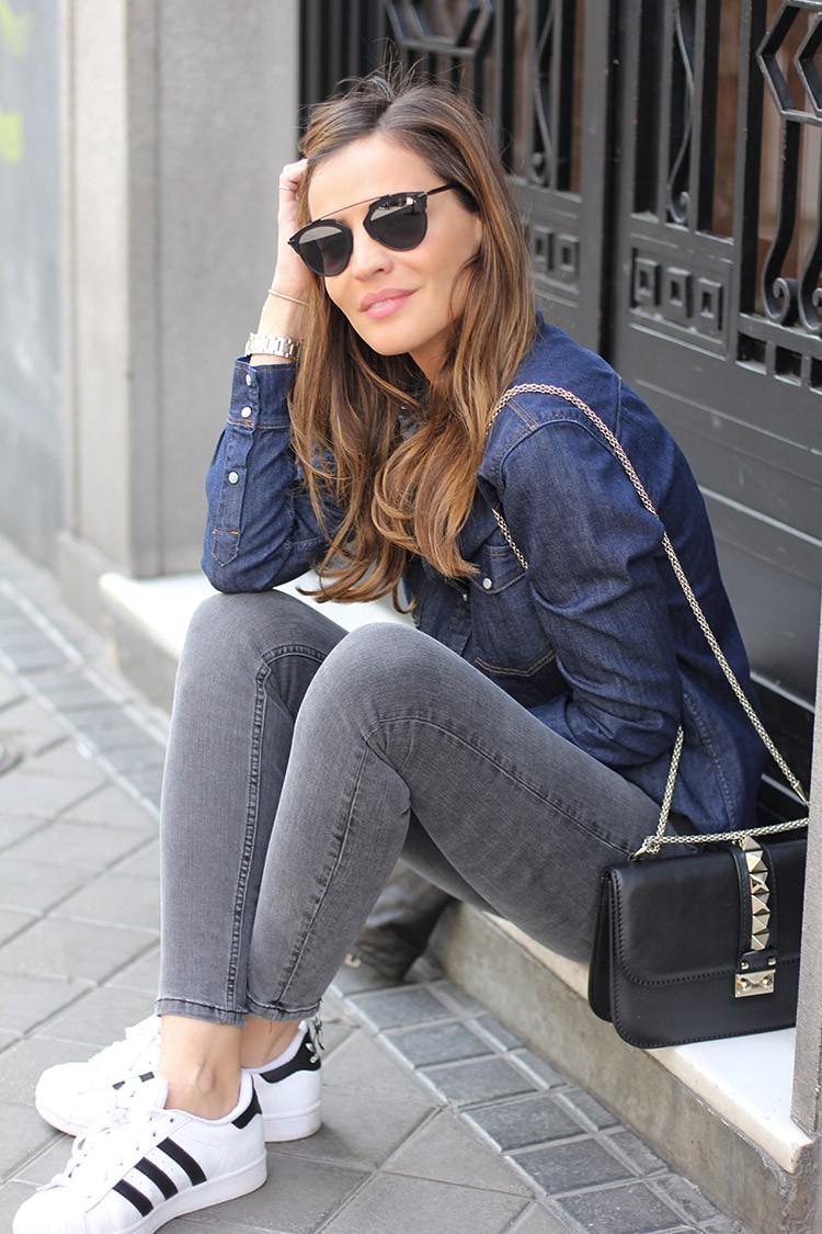 Adidas Superstar Mujer Combinar
