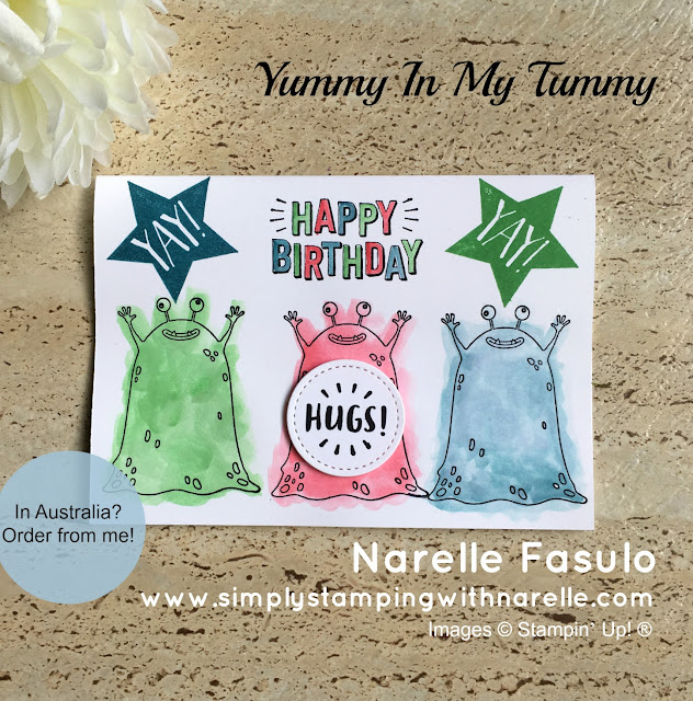 Yummy In My Tummy - Simply Stamping with Narelle - available here - http://bit.ly/2o5BG16