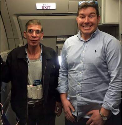 columna Josetxu, secuestro, avión, selfie,