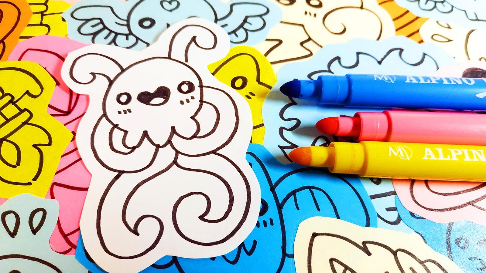 28 Cute Easy Jellyfish Drawings