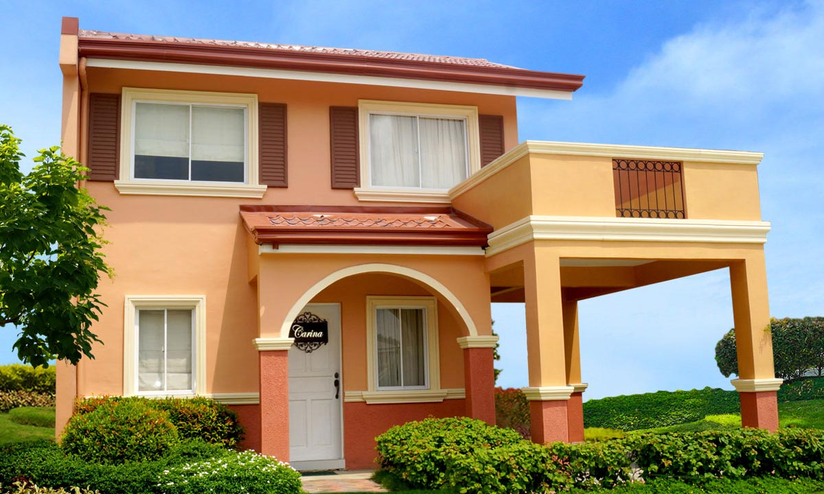 Camella homes camella dasmarinas island park carina for Houses models