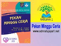 Pekan Minggu Ceria Dinas Pendidikan Kota Depok di UPTD SDN Ratujaya 1