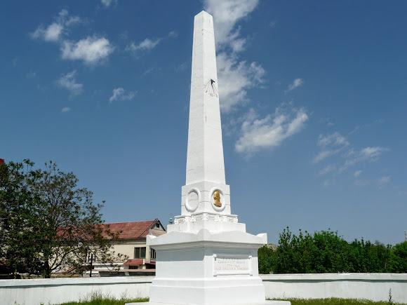 Херсон. Памятник Джону Говарду. 1820 г.