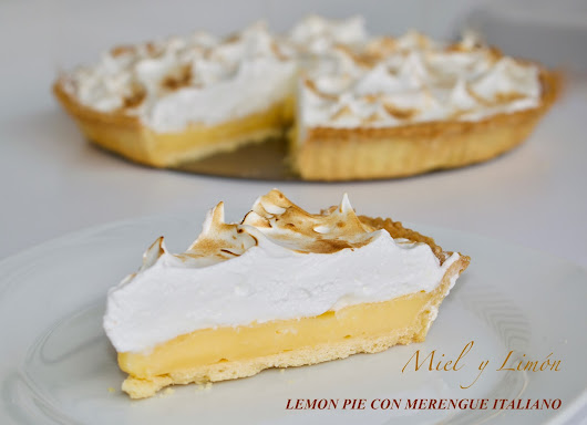 LEMON PIE CON MERENGUE ITALIANO