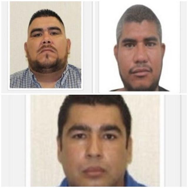Gobierno de Tamaulipas ofrece 2 mdp por informacion de 3 líderes criminales.