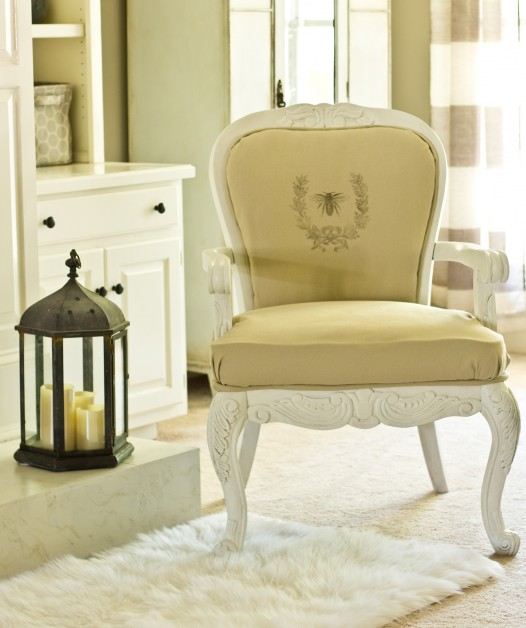 DiY French Chair with Graphic by Savvy Apron|One More Time Events-www.onemoretimeevents.com