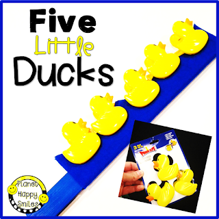 Five Little Ducks Prop by Planet Happy Smiles