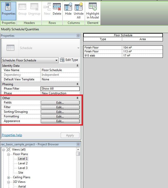 Revit: Montando uma Tabela de Quantitativos | Portal BIM