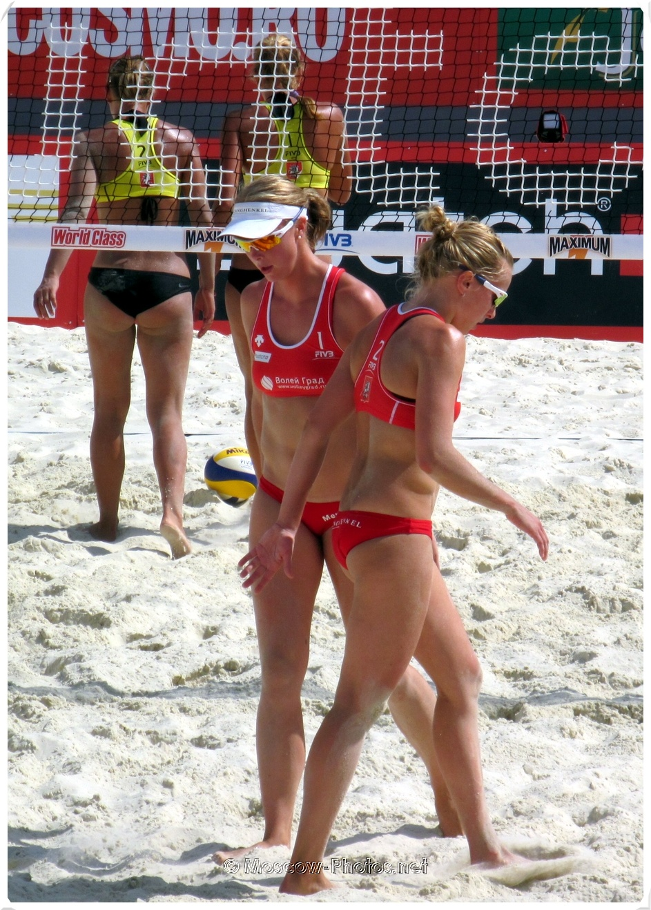 Grand Slam Moscow 2011. FIVB Beach Volleyball Swatch World Tour.