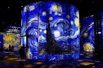 Expo : Van Gogh, la Nuit étoilée - Atelier des Lumières - Jusqu'au 31 décembre 2019