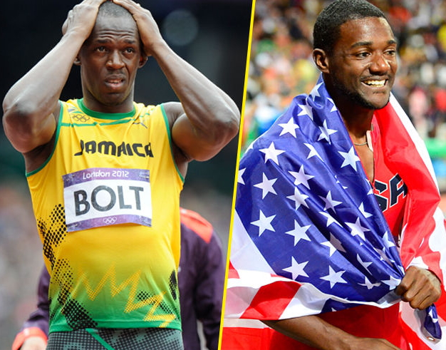 gatlin dethrones usain bolt in 100 meter final