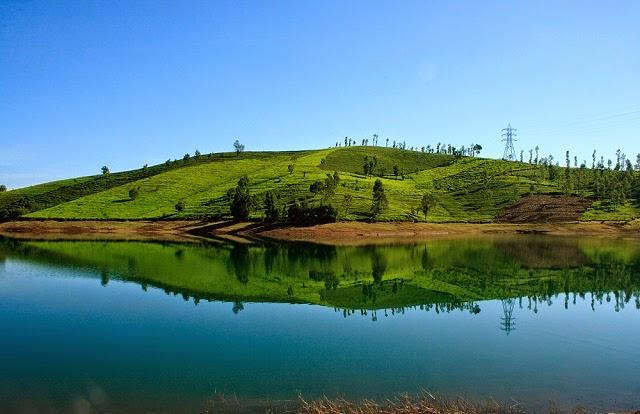 Avalanche lake in  Ooty, India