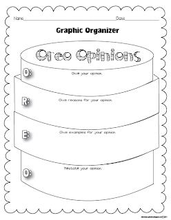 Loving Early Literacy: Opinion Piece Writing Starters