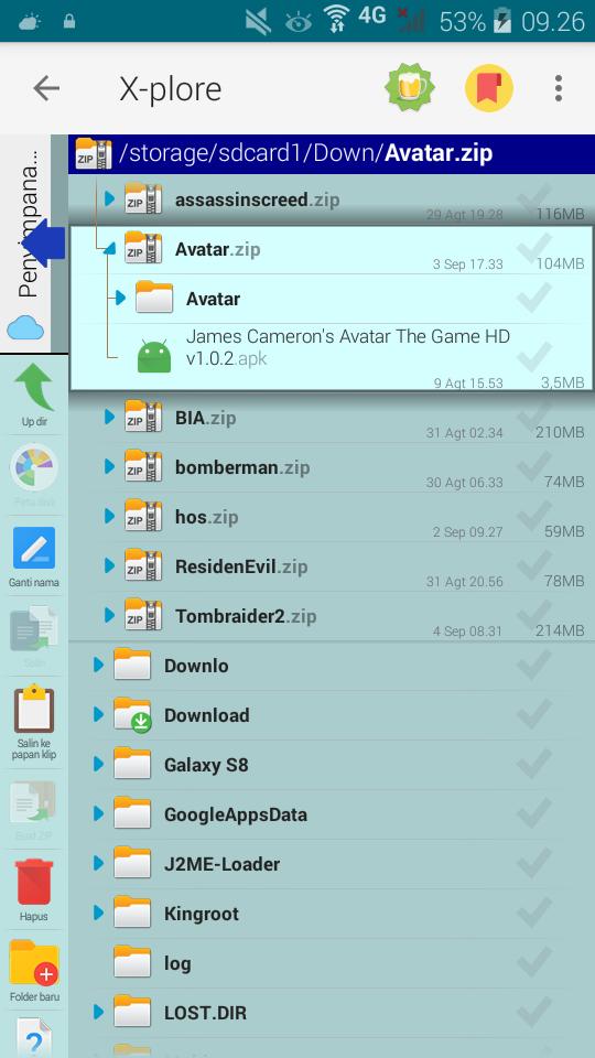 download avatar hd apk data mod