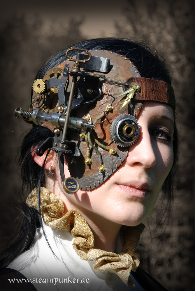steampunk steampunker outfit fashion clothes style mask. Black Bedroom Furniture Sets. Home Design Ideas